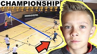⚽️ Boys and Girls Championship Indoor Soccer Game 2019 �...