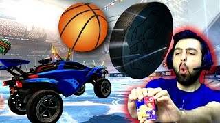 Igrenç Seker Cezali Rocket League | Buz Hokeyi ve Basketbol Modu | Bean Boozled | Ps4