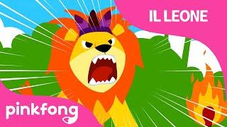 Il Leone | Canzone con Animali | PINKFONG Canzoni per Bambini