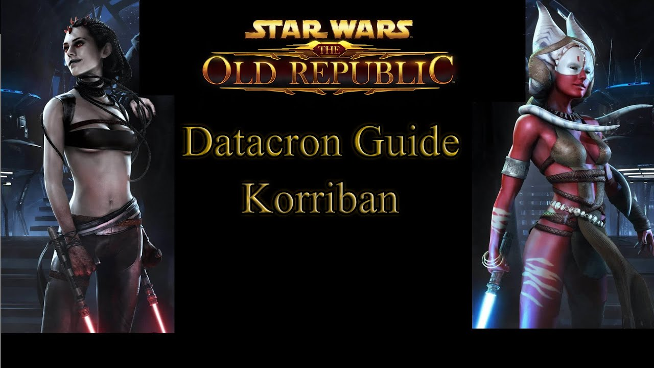 SWTOR Datacron Guide Teil 1 - Korriban Star Wars the Old Republic - YouTube
