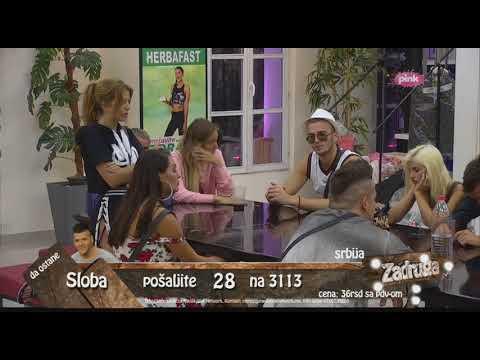 Zadruga - Kija, Sloba komentarišu Lunino vređanje Kije - 14.06.2018.
