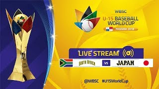 South Africa v Japan - U-15 Baseball World Cup 2018