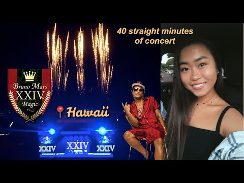 24K MAGIC TOUR - HAWAII HOMECOMING | BRUNO MARS | LAST SHOW!