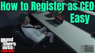 How to Register as a CEO in GTA 5 Online, GTA 5 Online How to become a CEO in GTA 5 Online