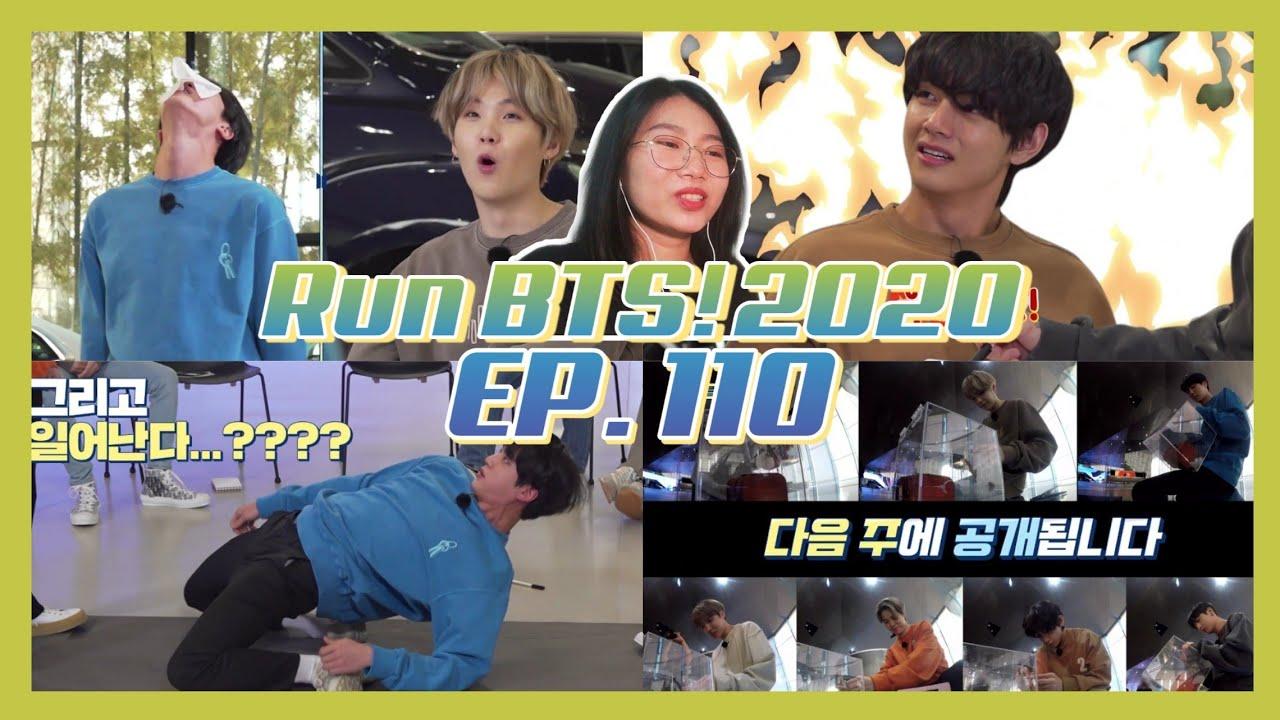 Run BTS! 2020 - EP.110 REACTION [Run BTS Ep.110 Treasure Hunt 1] (Run BTS Truy Tìm Báu Vật 1)