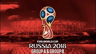 World Cup 2018, Group A & Group B - Match Previews | Predictions