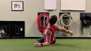 Learning to Rotate the Spine from the Top