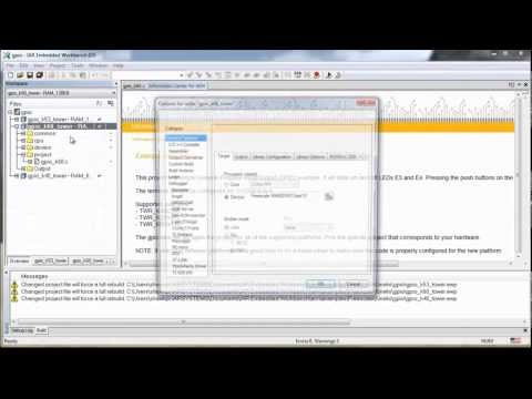 IAR Embedded Workbench Overview Part 1