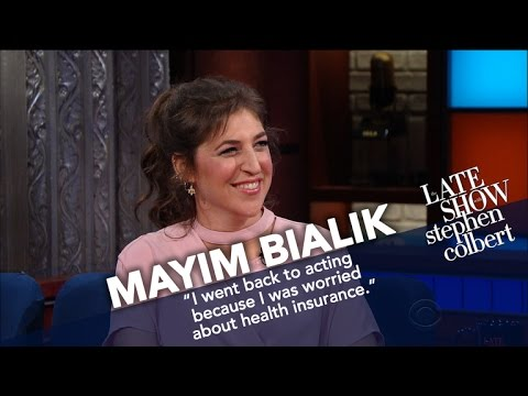 Thumbnail: Mayim Bialik Settles The Difference Between 'Nerd' and 'Geek'