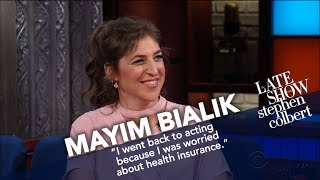 Mayim Bialik Settles The Difference Between 'Nerd' and 'Geek'