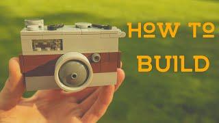 how To Build A Lego Retro Camera  Vintage