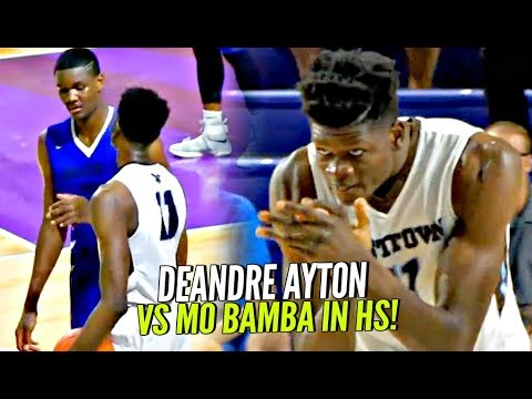 DeAndre Ayton vs Mo Bamba & His 7'10