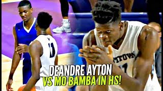 DeAndre Ayton vs Mo Bamba & His 7