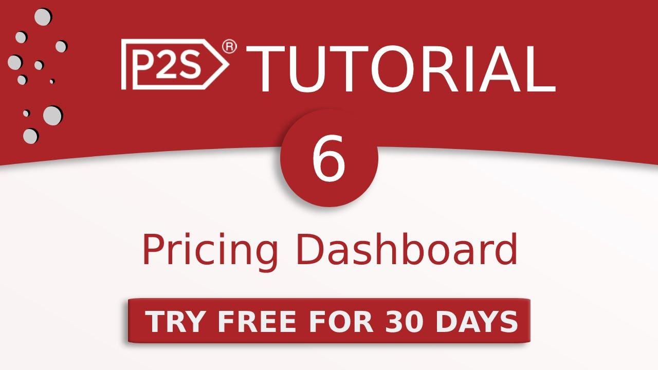 Price2Spy tutorial #6 - Pricing Dashboard