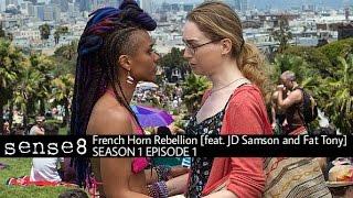 GirlsporFrench Horn Rebellion (feat. JD Samson and Fat Tony) - Sense8 - 1x1