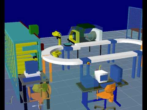 U of M Reconfigurable Manufacturing Simulation Project A