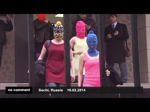 Russia: Pussy Riot members released - no comment