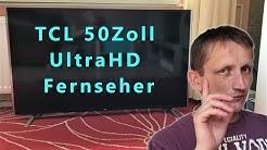 TCL S79 50 Zoll UltraHD Fernseher - Unboxing / Einrichten/ Kleiner Test
