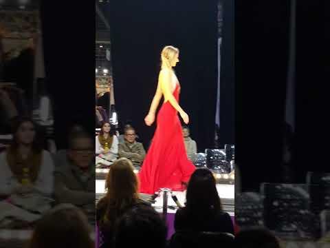 #fashion #glamour  #leywessdress a PALEXPO a Genève #missromandie