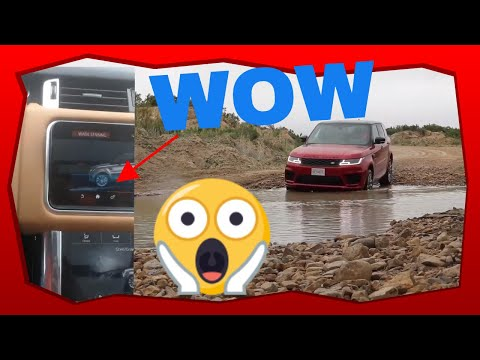 Wade Sensing Feature In Action - 2019 Range Rover Sport Off Road Owner Review