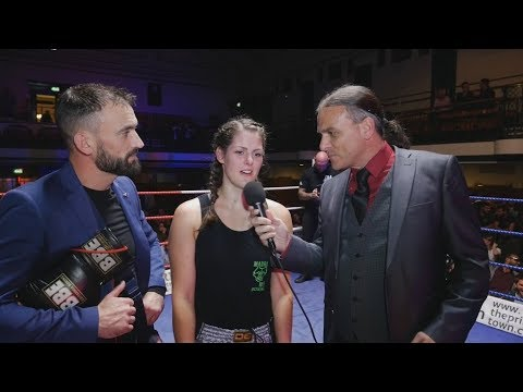 IBA Boxing - Rachel Newbury - Post Fight Interview