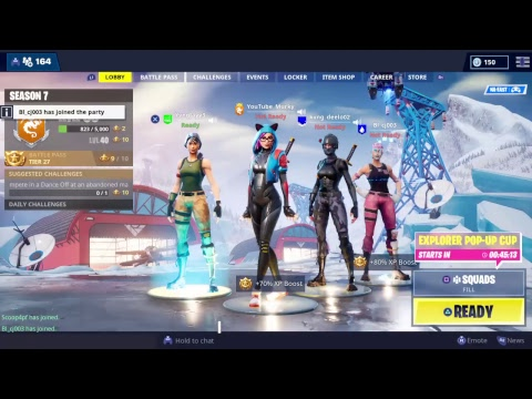 [PS4]  Pro console player | Stream Snipe Me | 750+WINS |Morning  Fortnite live Stream