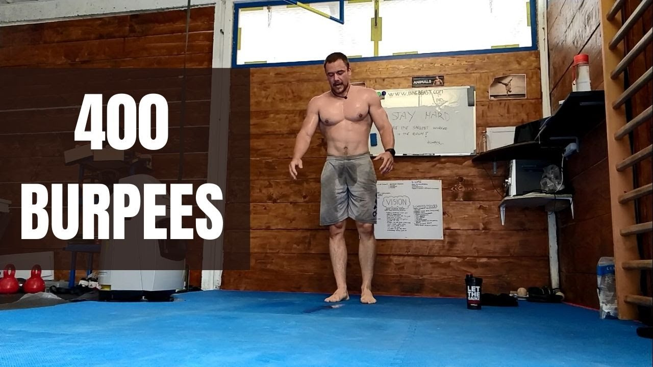 400 Burpees | Sweat & Pain