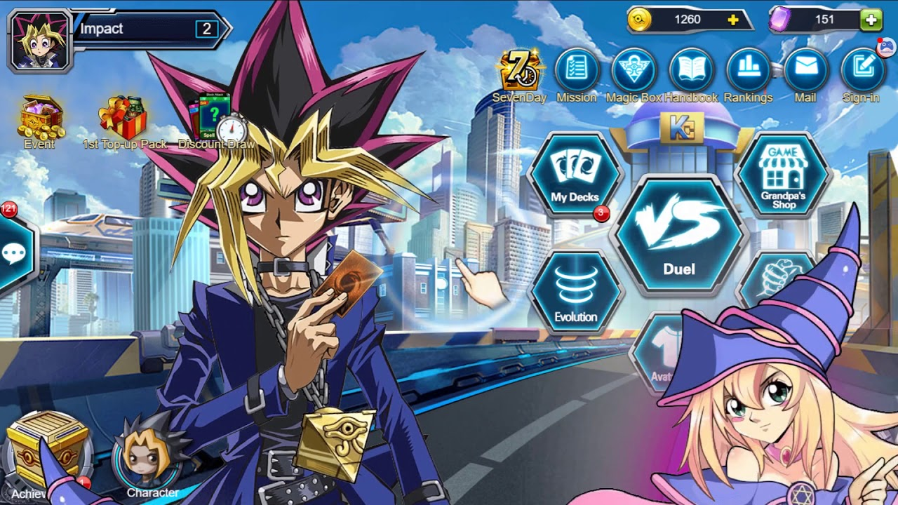 yu gi oh online game free cards