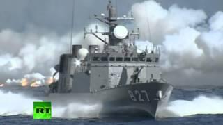 Ежегодный смотр морских сил самообороны Японии (ВИДЕО)