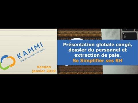 KAMMI présentation globale du SIRH