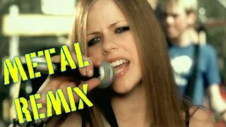 Avril Lavigne - Complicated - Metal Remix