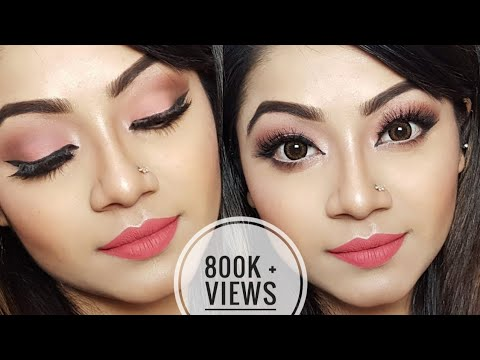 Simple Party Makeup Tutorial Saubhaya