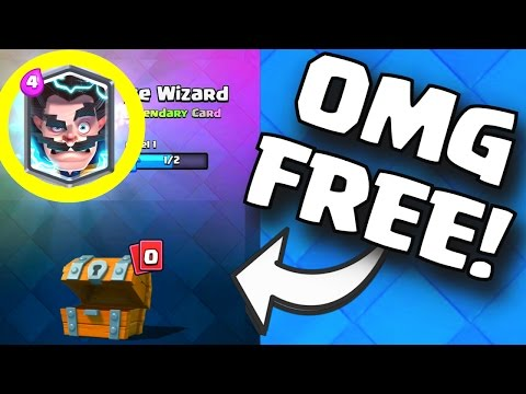 LEGENDARY CARD FROM FREE CHEST DROPPED! | Clash Royale Legendary Card Drop Rates For All Chests