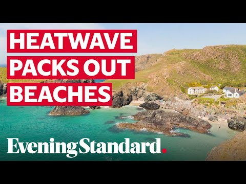 UK Weather: Beaches Jam-packed On Hottest August Day In 17 Years