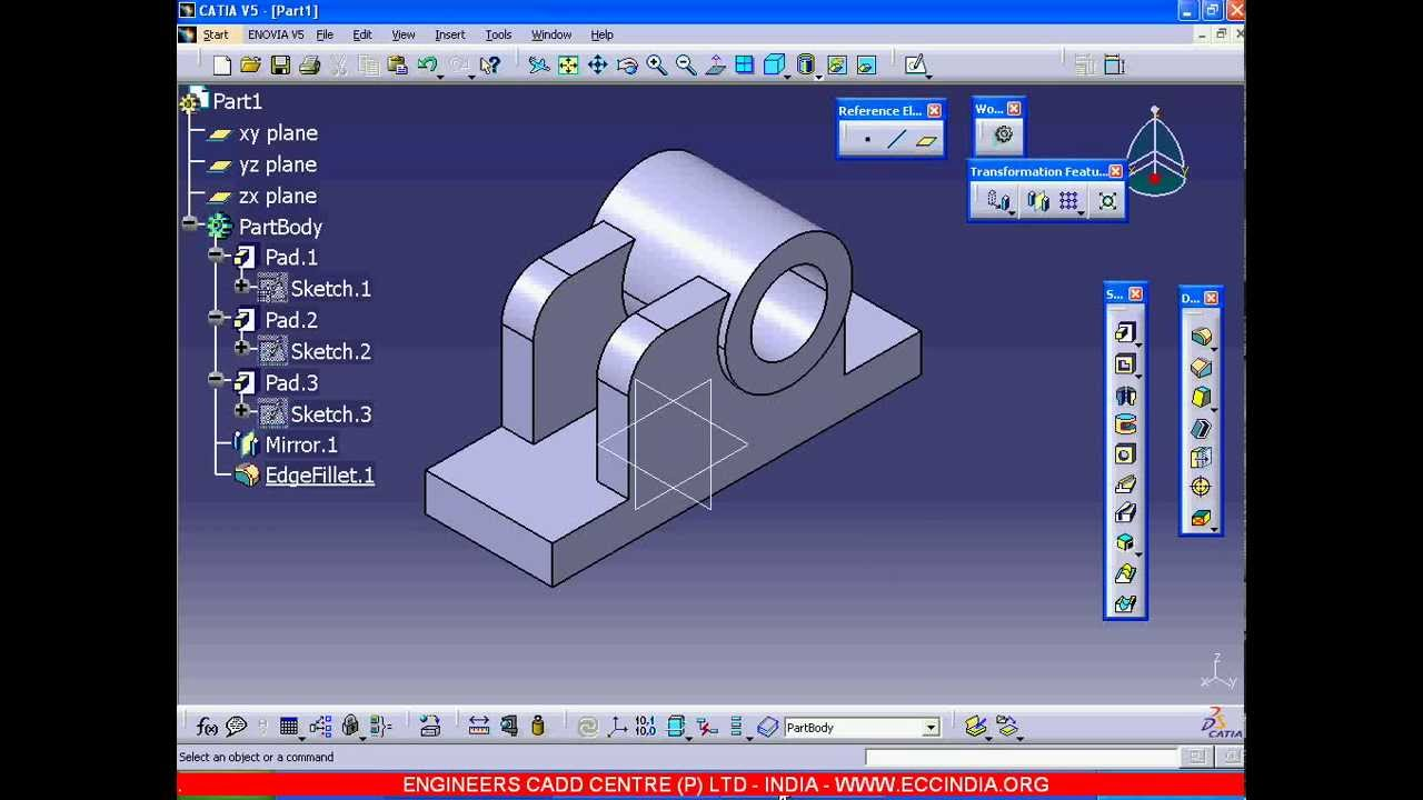 Catia V Part Design Exercises Pdf