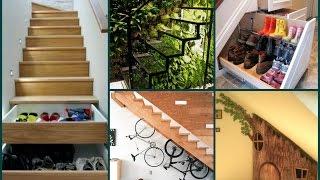 Under Stairs Ideas – 35 Best Interior Design Solutions