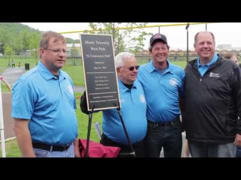 Miami Township West Park Ribbon Cutting