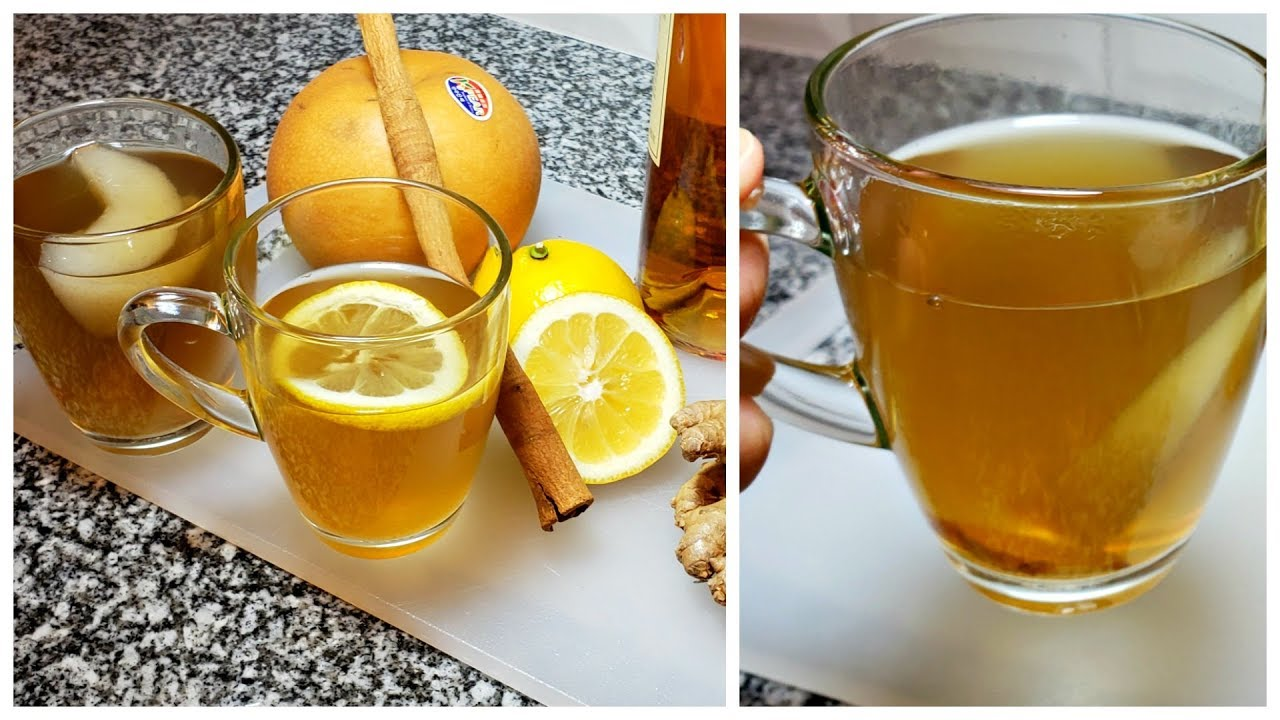 Download Hot Toddy Recipe for Cough and Cold Relief   Korean Pear Ginger Tea