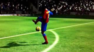 FIFA 09 GOAL BARCELLONA