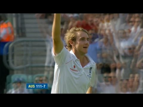 The best of Stuart Broad - 8-15, Ashes wins and hat-tricks
