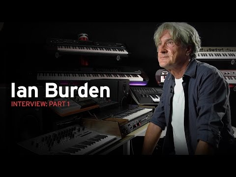 Human League keyboard player, Ian Burden talks about the synths Part 1