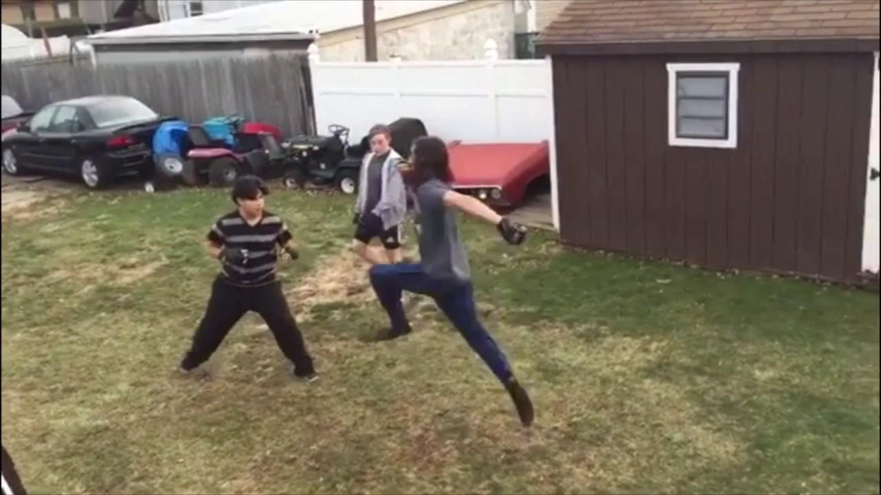 backyard brawls: mma fight highlights 2016 - youtube