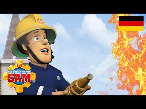 Feuerwehrmann Sam Deutsch Neue Folgen | Ein feuriges Geschenk - Rettung | Cartoons fur Kinder