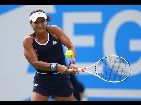 2016 Aegon Classic First Round | Heather Watson vs Camila Giorgi | WTA Highlights