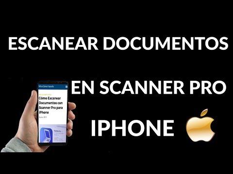 ¿Cómo Escanear Documentos con Scanner Pro para iPhone?