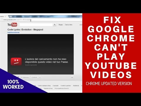 How To Fix Youtube Not Working On Chrome Browser || Chrome Youtube Video Common Problems & Fixes