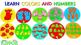 Learn Colors and Numbers