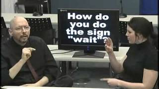 American Sign Language (ASL) Lesson 06