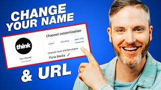 How to Change Y๐ur YouTube Channel Name & Custom URL (2021 UPDATE)