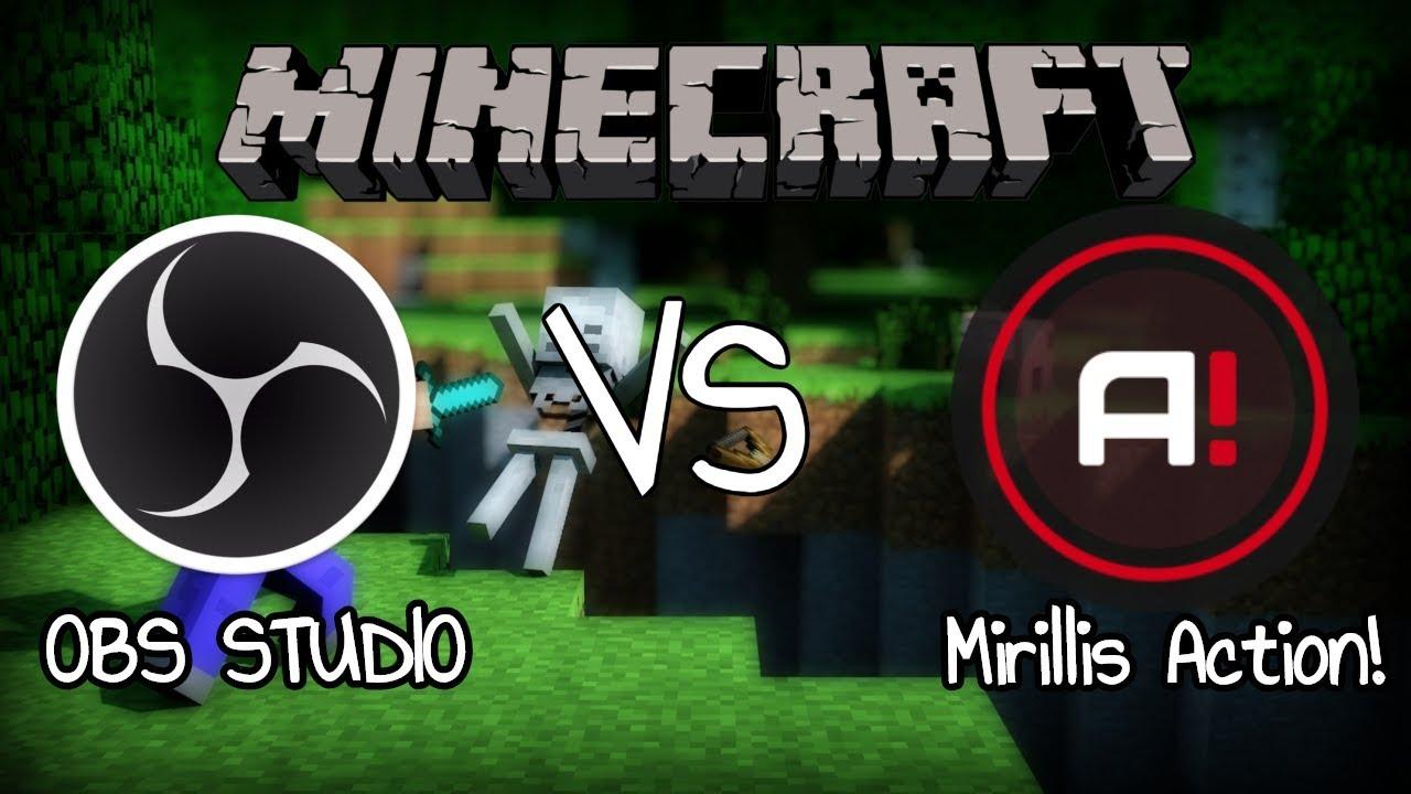 mirillis action vs obs